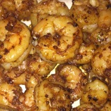 Smoky Brown Butter Shrimp